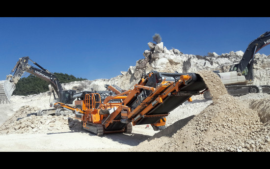 The Impact Crusher R1100S in long-term use in Turkey