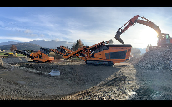 The first Rockster impactor from the new headquarters is already in action