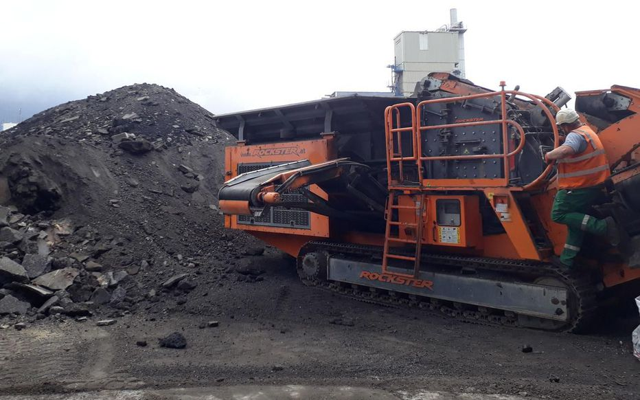 R1100S Prallbrecher Asphalt Recycling in Paris
